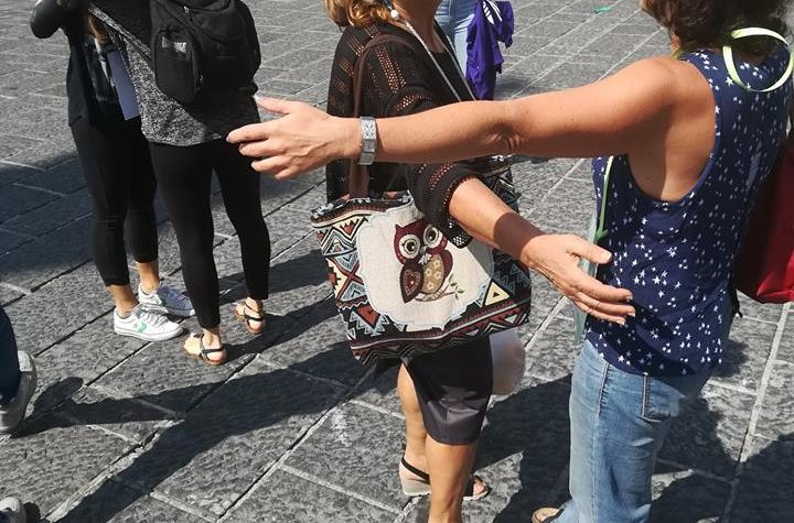 Teggiano, Salerno – La Marcia Mondiale degli Abbracci 1.0